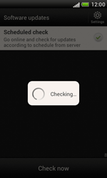 HTC Desire X - Software - Installing software updates - Step 11