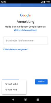 Sony Xperia XZ2 - Android Pie - Apps - Konto anlegen und einrichten - Schritt 6