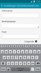 Samsung G900F Galaxy S5 - E-mail - handmatig instellen - Stap 9