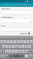 Samsung G900F Galaxy S5 - E-mail - e-mail instellen: POP3 - Stap 9