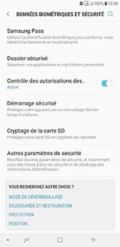 Samsung Galaxy J6 Plus - Sécuriser votre mobile - Personnaliser le code PIN de votre carte SIM - Étape 5
