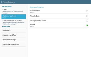 Samsung T535 Galaxy Tab 4 10.1 - Internet und Datenroaming - Manuelle Konfiguration - Schritt 23