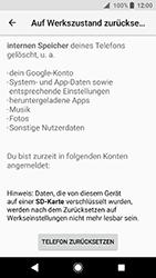 Sony Xperia XA2 - Fehlerbehebung - Handy zurücksetzen - 9 / 12