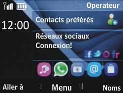 Nokia Asha 201 - Réseau - utilisation à l'étranger - Étape 12