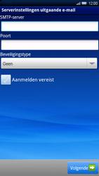 Sony Xperia X10 - E-mail - Handmatig instellen - Stap 9