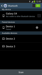 Samsung Galaxy S 4 LTE - Bluetooth - Connecting devices - Step 8
