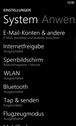 Nokia Lumia 920 LTE - WLAN - Manuelle Konfiguration - Schritt 4