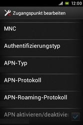 Sony Xperia Miro - Internet - Apn-Einstellungen - 1 / 1