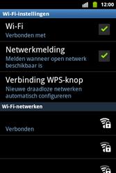 Samsung S5690 Galaxy Xcover - wifi - handmatig instellen - stap 9