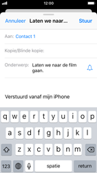Apple iPhone SE (iOS 11) - e-mail - hoe te versturen - stap 7