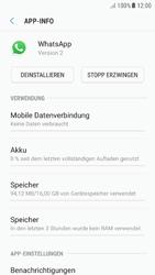 Samsung Galaxy A5 (2016) - Android Nougat - Apps - Eine App deinstallieren - Schritt 6