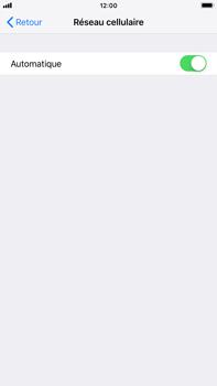 Apple iPhone 7 Plus - iOS 12 - Réseau - Sélection manuelle du réseau - Étape 5