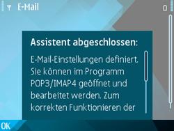 Nokia E71 - E-Mail - Konto einrichten - Schritt 14
