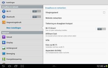 Samsung N8000 Galaxy Note 10-1 - Internet - Handmatig instellen - Stap 5