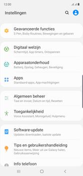 Samsung Galaxy Note 10 - apps - apps afsluiten - stap 4