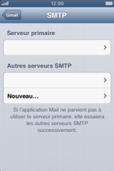 Apple iPhone 3GS - E-mail - Configuration manuelle - Étape 15