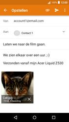 Acer Liquid Z530 - E-mail - E-mails verzenden - Stap 15