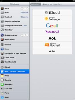 Apple iPad Retina - E-mail - Configuration manuelle - Étape 9
