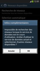Samsung Galaxy S 4 LTE - Réseau - Sélection manuelle du réseau - Étape 7