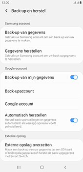 Samsung Galaxy J4 Plus - Data - maak een back-up met je account - Stap 7