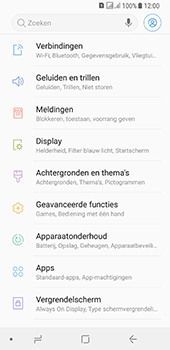 Samsung galaxy-a8-2018-sm-a530f-android-oreo - WiFi - Mobiele hotspot instellen - Stap 4