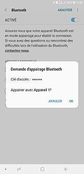 Samsung Galaxy J6 Plus - Internet et connexion - Connexion avec un équipement multimédia via Bluetooth - Étape 10