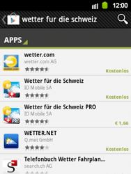 Samsung Galaxy Y - Apps - Installieren von Apps - Schritt 13