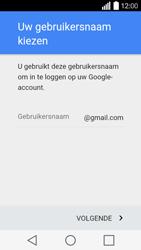 LG Leon (H320) - Applicaties - Account aanmaken - Stap 6