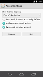 Huawei Ascend P6 - E-mail - Manual configuration - Step 17