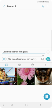 Samsung Galaxy Note9 - MMS - hoe te versturen - Stap 14