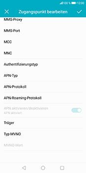 Huawei Honor 9 Lite - Internet - Manuelle Konfiguration - 18 / 27