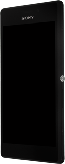 Sony Xperia M2 - SIM-Karte - Einlegen - Schritt 2
