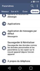 LG K4 - Applications - Supprimer une application - Étape 5