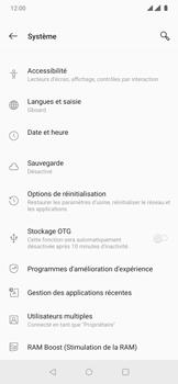 OnePlus 7 Pro - Aller plus loin - Restaurer les paramètres d'usines - Étape 5