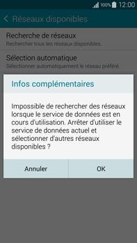 Samsung Galaxy Note 4 - Réseau - Sélection manuelle du réseau - Étape 7