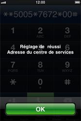 Apple iPhone 3G S - SMS - Configuration manuelle - Étape 7