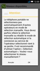 Alcatel One Touch Idol Mini - Réseau - Sélection manuelle du réseau - Étape 10