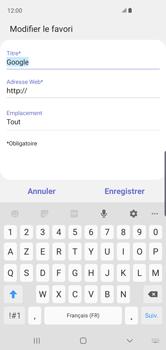 Samsung Galaxy S10 - Internet et connexion - Naviguer sur internet - Étape 11
