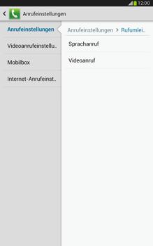 Samsung N5100 Galaxy Note 8-0 - Anrufe - Rufumleitungen setzen und löschen - Schritt 7