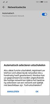 Huawei Mate 20 - Netwerk - Handmatig een netwerk selecteren - Stap 7