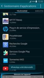 Samsung G850F Galaxy Alpha - Applications - Comment désinstaller une application - Étape 8