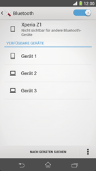 Sony Xperia Z1 - Bluetooth - Geräte koppeln - Schritt 8