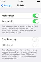 Apple iPhone 4 S - iOS 8 - Internet - Manual configuration - Step 4