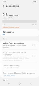Samsung Galaxy S20 5G - Internet und Datenroaming - Prüfen, ob Datenkonnektivität aktiviert ist - Schritt 6
