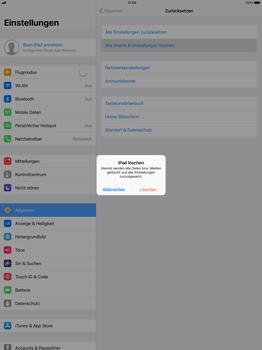 Apple ipad-pro-12-9-inch-mit-ios-11 - Fehlerbehebung - Handy zurücksetzen - Schritt 7