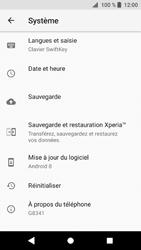 Sony Xperia XZ1 - Aller plus loin - Restaurer les paramètres d'usines - Étape 5