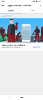 Sony Xperia 5 - Software - Installazione degli aggiornamenti software - Fase 7