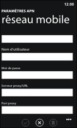 Nokia Lumia 800 / Lumia 900 - MMS - Configuration manuelle - Étape 10
