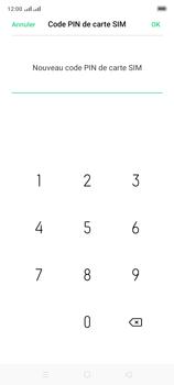Oppo A9 2020 - Sécuriser votre mobile - Personnaliser le code PIN de votre carte SIM - Étape 11
