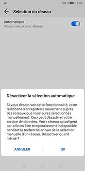 Huawei Mate 10 Pro - Android Pie - Réseau - Sélection manuelle du réseau - Étape 7